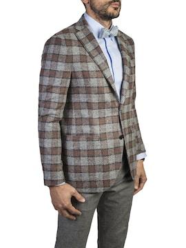 checked design soul jacket