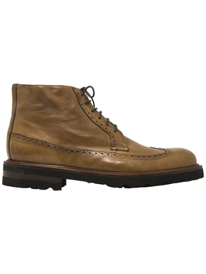 longwing brogues derby boot shoes
