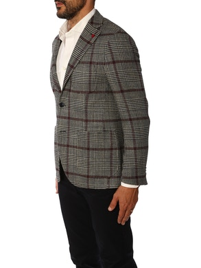Grey Prince of wales jacket