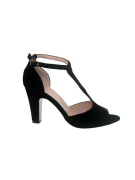 Black open toe sandal