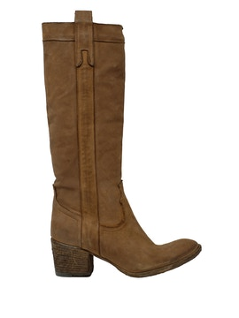Brown buffalo boots