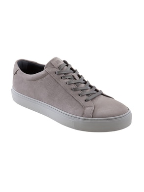 Peltro nabuk leather sneakers