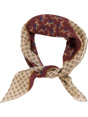 Red elephant foulard