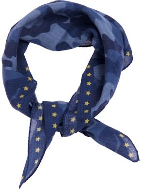 Blue como foulard