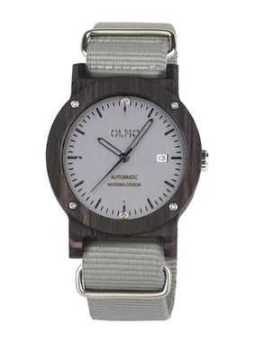 Grey fabric ebano watch