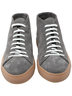 Lead beaver high-top sneakers