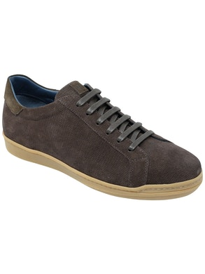 Velour st. ebony / dark brown velour sneakers