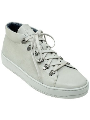 Mousse powder high-top sneakers