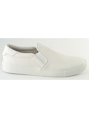 White foulard slip-on