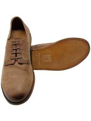 Smooth derby used light brown
