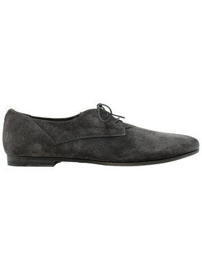 Derby minimal in suede grey