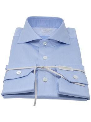 Camicia solaro azzurro collo Francia piccolo