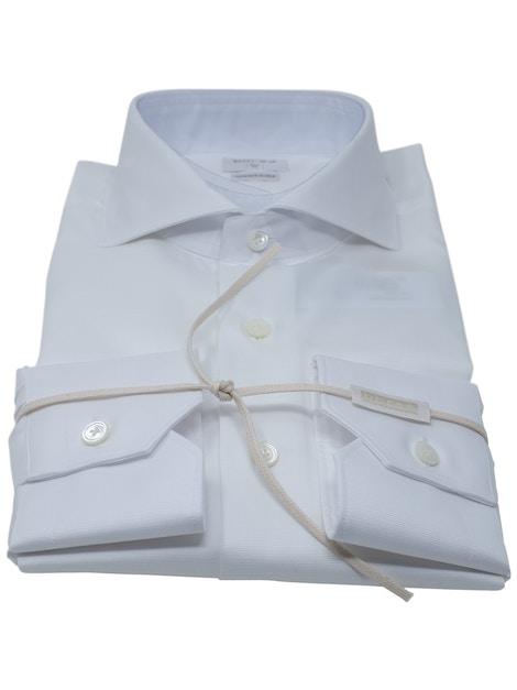 Camicia barrè bianco collo Francia piccolo