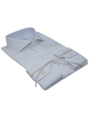 White fantasy shirt French collar