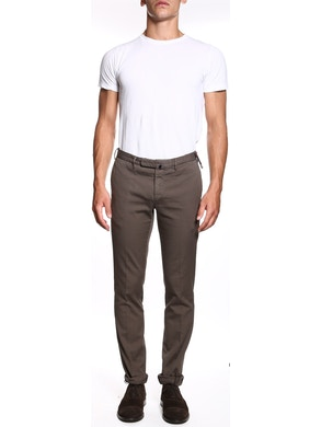 Mud colored trousers