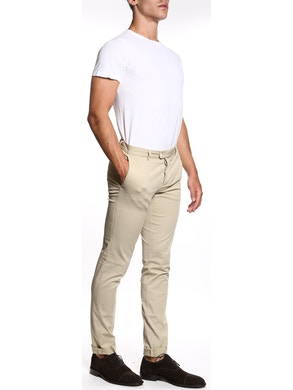 Beige trousers