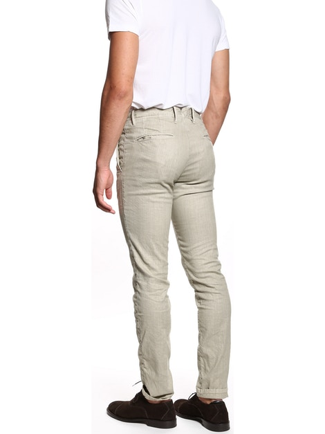 Sand colored Microfantasy trousers