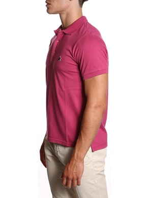 Fucsia polo shirt