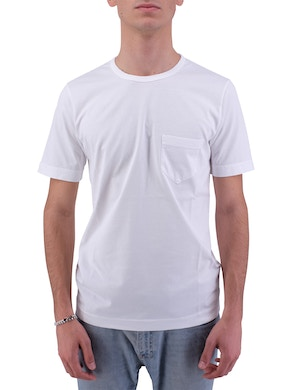 White t-shirt with pocket