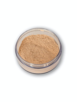 The loose face powder