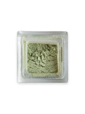 Green loose powder eye shadow