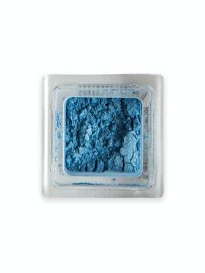 Blue loose powder eye shadow