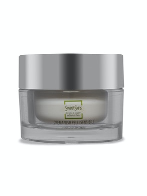 Sensitive face skin cream