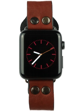 Cinturino Apple watch marrone