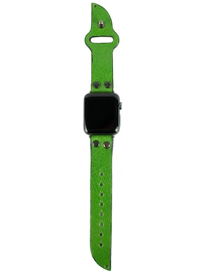 Apple watch strap shocking green