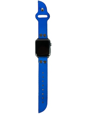 Apple watch strap Electric blue
