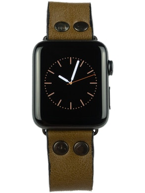 Apple watch strap olive green