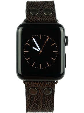 Apple watch strap Brown leather