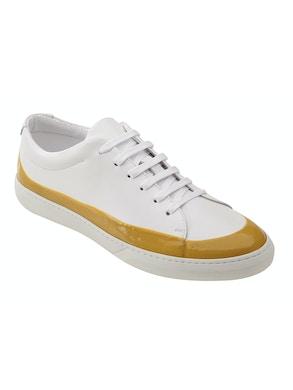 White/Yellow shoes