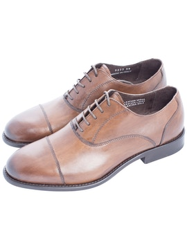 Scarpe oxford marroni