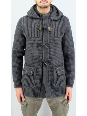 Dark Grey duffle coat