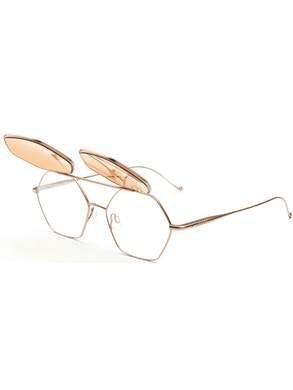 Sunglasses and eyeglasses - amber lenses