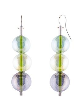 Multicolor glass bubbles