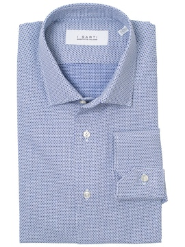 Light blue shirt - Albiate cotton mill