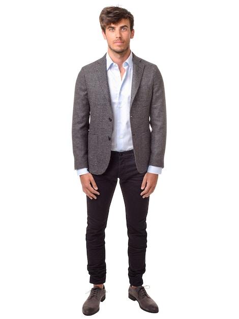 Checked design jacket