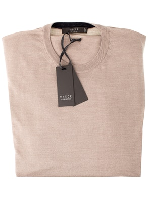 dove grey round collar sweater