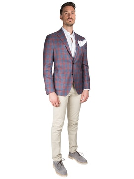 Checked jacket by Loro Piana