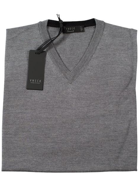 iron v-neckline sweater