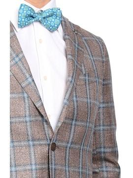 Checked design jacket Loro Piana Tweed