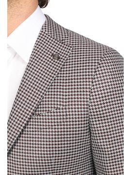 houndstooth reda jacket