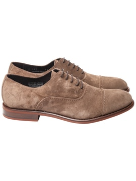 Oxford in suede beige