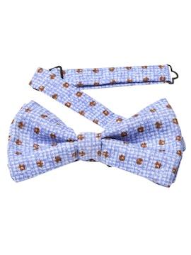 lilac bow tie