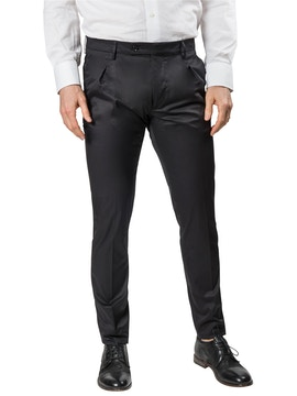 Black trousers with pence