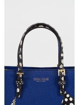 Ocean handbag in real leather