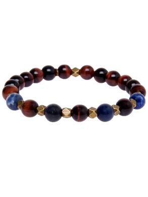 Bracelet with red tiger eye