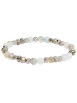 Bracelet with Amazon and Labradorite stone